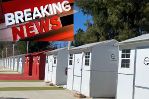 Breaking News on Chandler Blvd Tiny Home Village